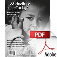 Midwifery Today №94 (PDF)